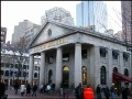Walking in Quincy Market