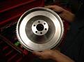 Steel flywheel SA81S