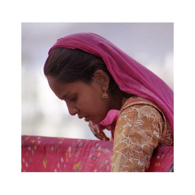 India, Udaipur, vrouw