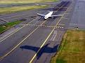 plane landing at Reagan National airport