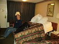 Wheelie bed at Ramada Inn
