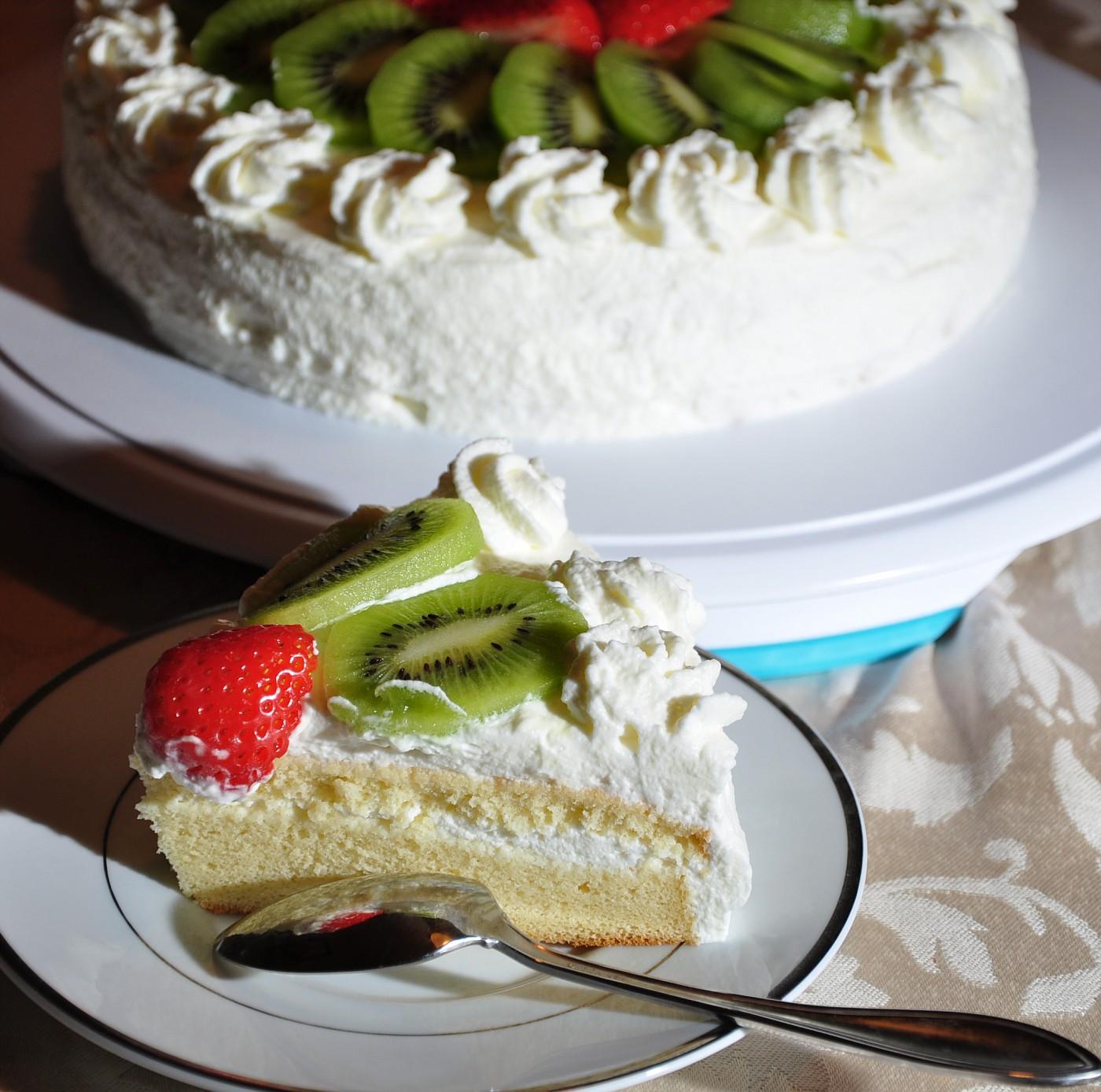 第一个 戚风蛋糕