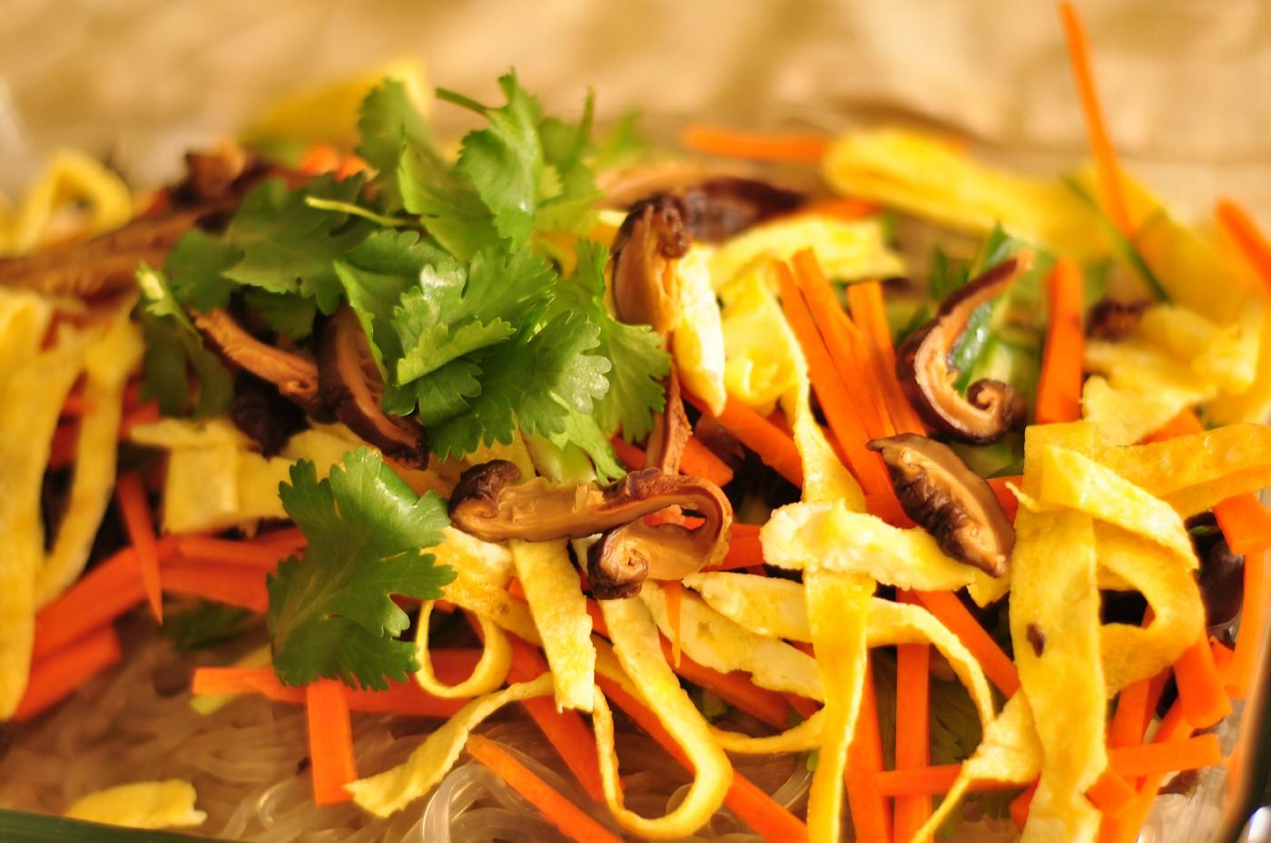 Sichuan cool noodles