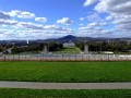 Canberra from the roof of Parliament House