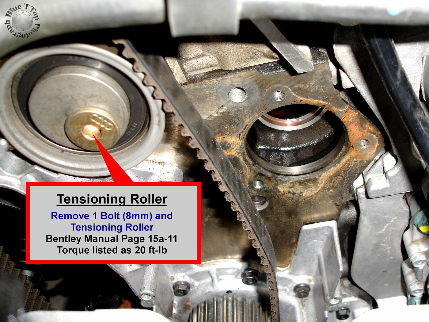 Remove Tensioning Roller