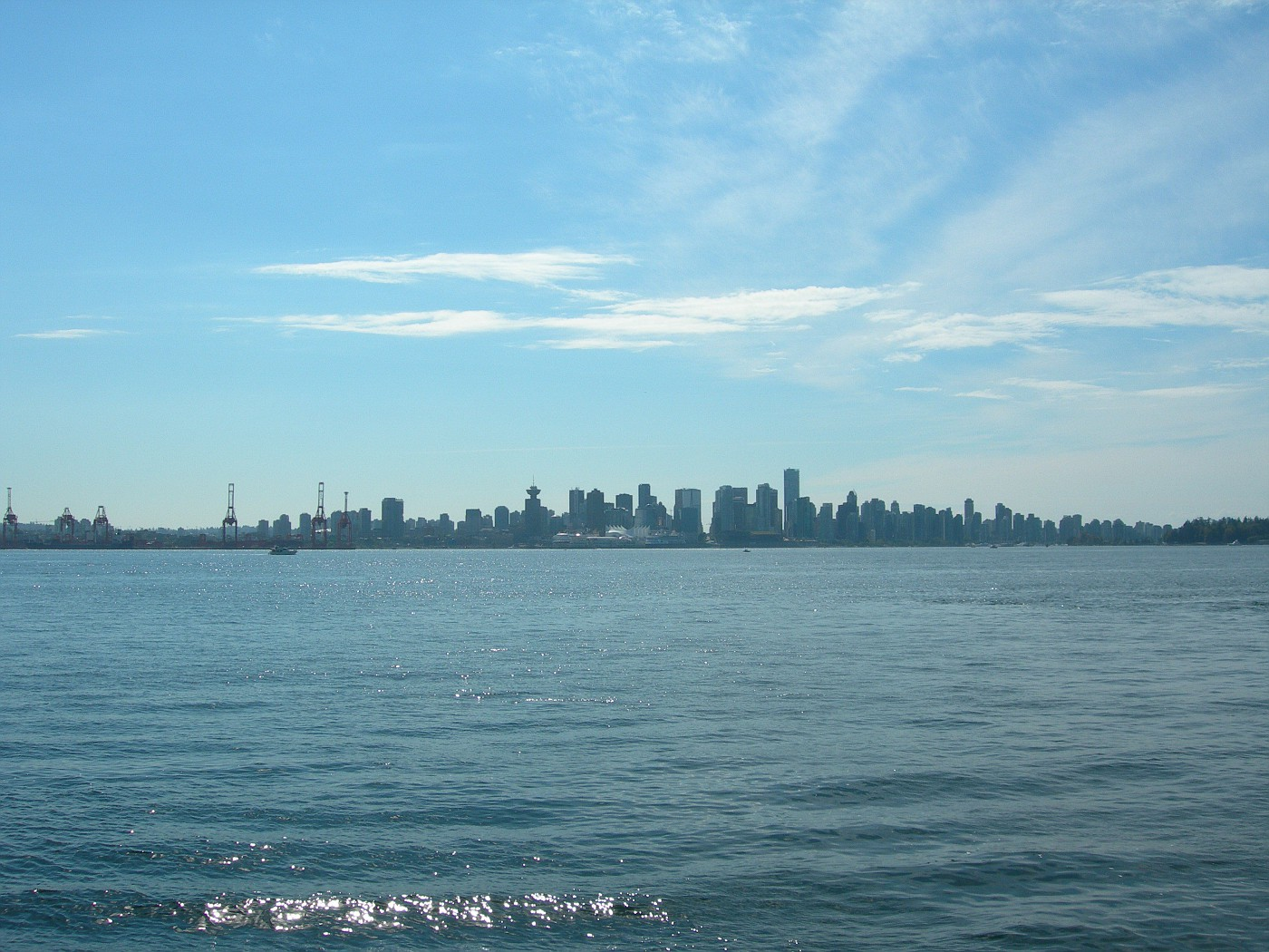 On the seabus to Lionsquay