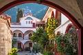 The Monastery of Saint David in Evia