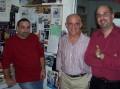 Charlie K,  Howard Sorkin & Alex Perez-Daple