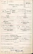 Australian Army copy of the marriage record for Margaret Turnbull Tocher and John Robertson Stewart