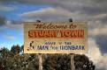 Stuart Town sign