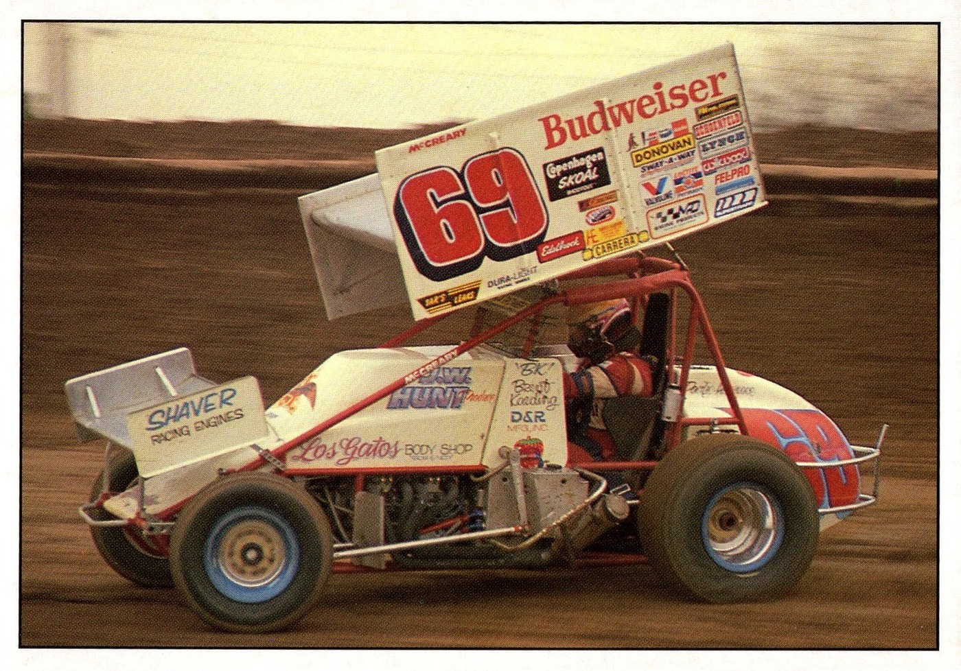 1990 World of Outlaws Oversize #69