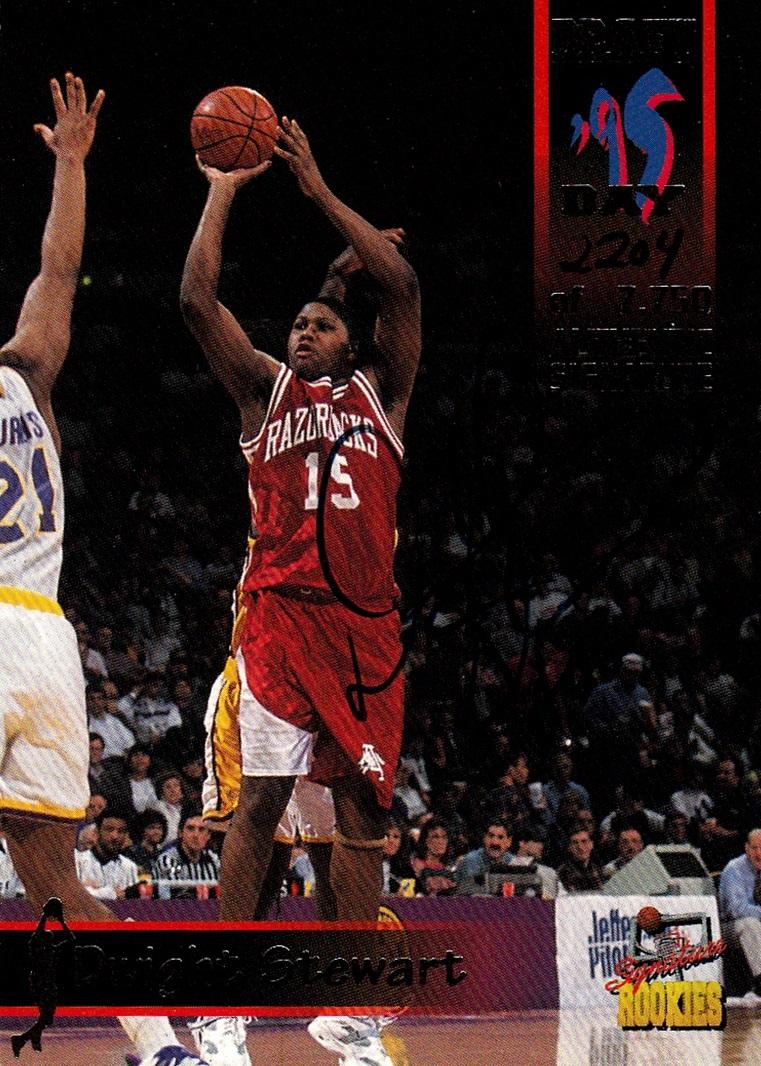 1995 Signature Rookies Draft Day '95 Signatures #05 (1)