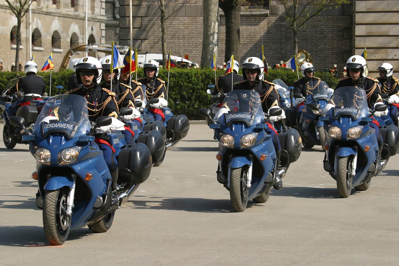 France - Garde Republicaine Motors