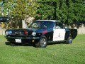 Atherton, CA PD's DARE Mustang