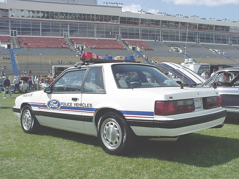 Misc - Ford SSP Mustang, privately owned
