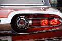11 1963 Chrysler Ghia Turbine Car rear tail light detail
