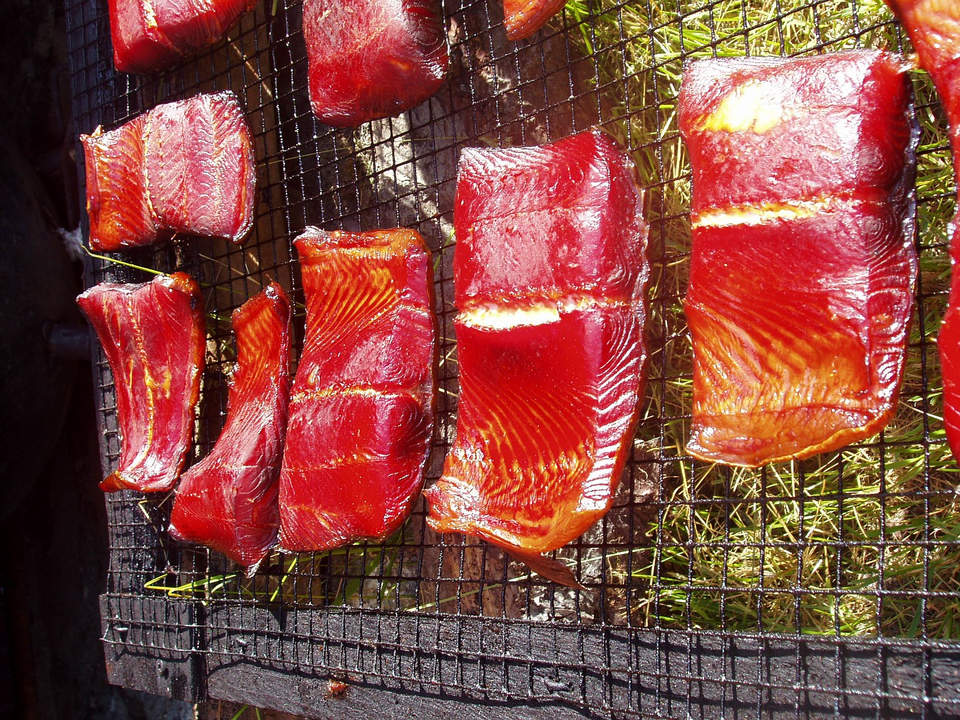 Smoked King Salmon