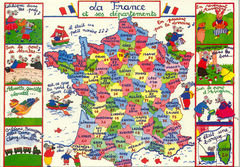 00-Map of France 1