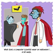 Halloween - Weekly comic about web developers, software and browsers