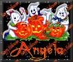 3 Ghosts & pumpkinAngela