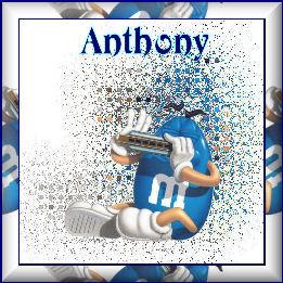 Blue MMAnthony