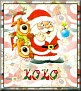 Santa with friendsTaXOXO