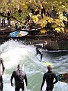 Isar river surfing