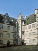 Innenhof Eckturm
