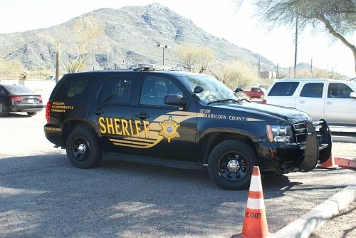 AZ- Maricopa County Sheriff 2013 Chevy Tahoe