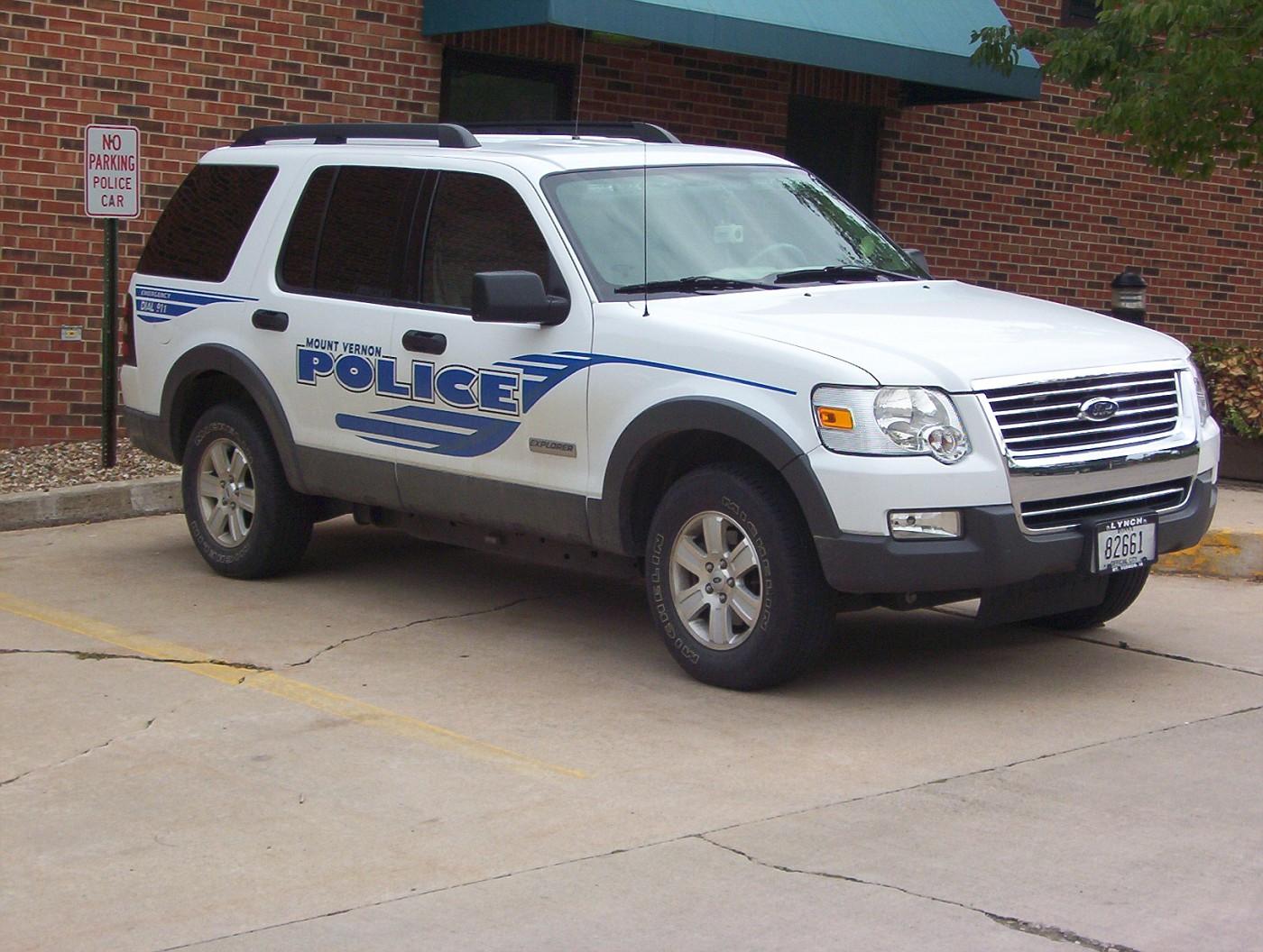 IA - Mount Vernon Police