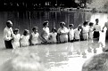 Baptizing at Kermit Sharp's Pond, in Mill Branch Community