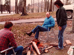 Billy, Junior, and Pat at Hurricane Creek Campground