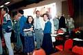 Debra Munn, Scott Foll & Peggy Reynolds at Dickens Fellowship