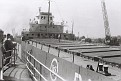 Ore Carrier in the Soo Locks, Sault Ste Marie, Michigan. Photo courtesy of the Pryor family.