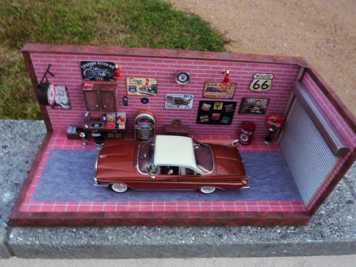 """Garage  d""""un nostalgique de la route 66 terminé Photo70-vi"""