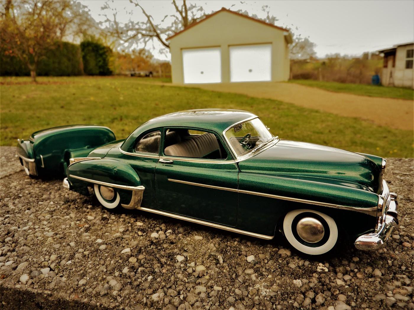 Projet Oldsmobile 50 avec remorque assortie terminé Photo3-vi