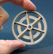 The large bull gear printed