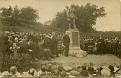 Unveiling of the Canonbie War Memorial