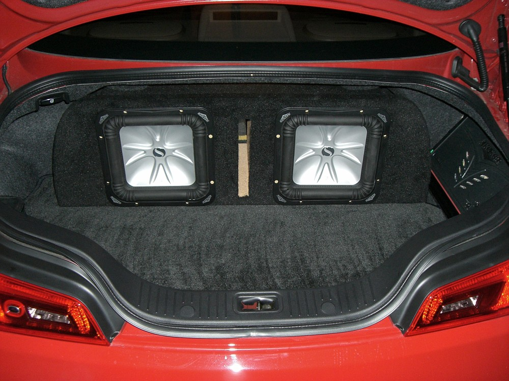 Kicker Amp And Subs With Custom Box For Sale