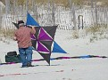 Sunday -- Ken and an interesting kite.