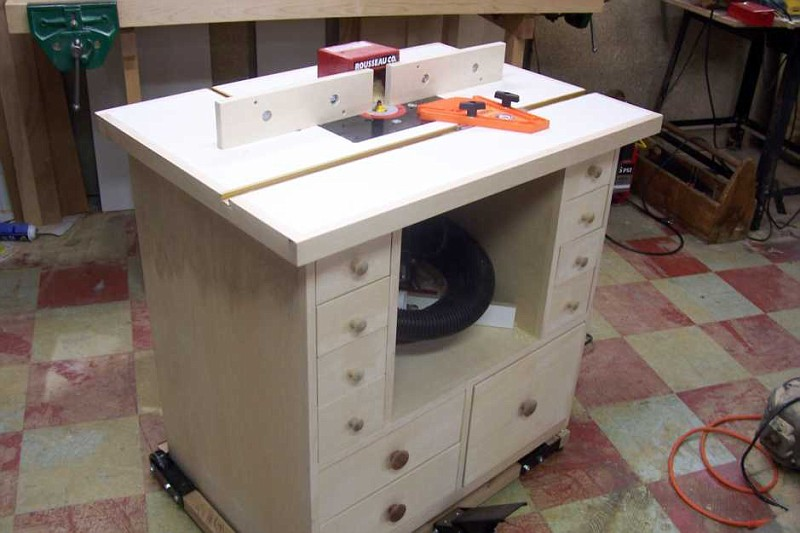 Woodworking Plans Table Homemade Router Table Plans