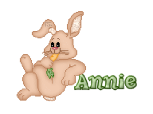 Annie - BunnyWithCarrot