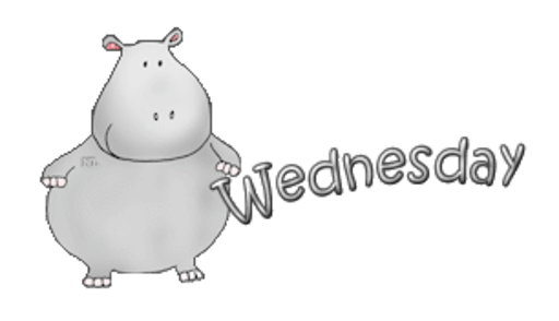 DOTW Wednesday - CuteHippo2018