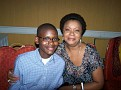 Philippe and Renee Andre,Kapi's wife and son..