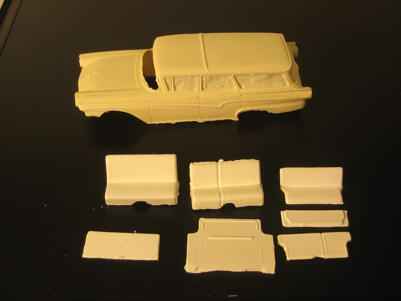 1957 Ford Station Wagon resin kit