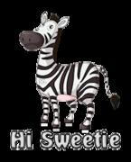 Hi Sweetie - DancingZebra