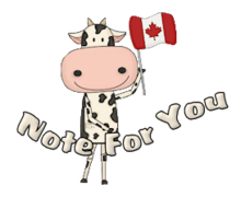 Note For You - CanadaDayCow