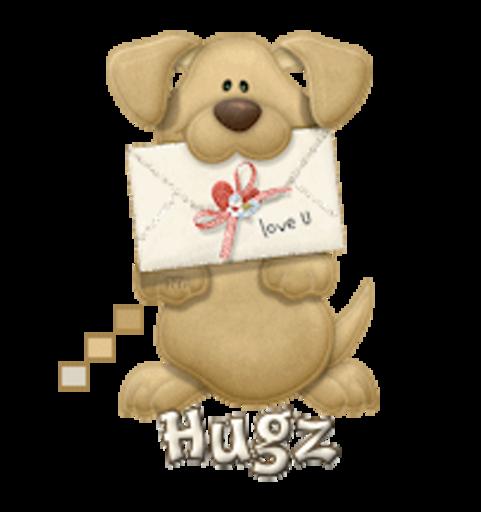 Hugz - PuppyLoveULetter