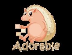 Adorable - CutePorcupine