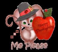 Me Please - ThanksgivingMouse